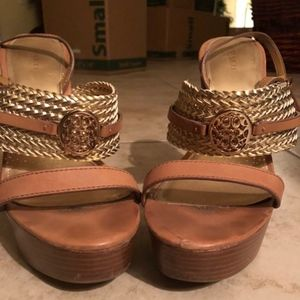 Coach woman's wedges